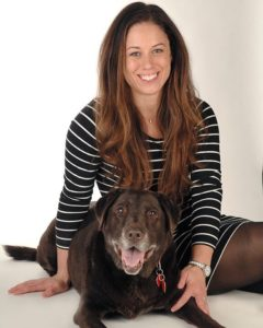 Deandra Owen, DVM Practice Limited to Surgery and her dog Autumn
