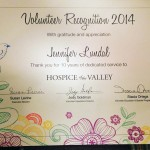 Jennifer Lundal - Hospice of the Valley